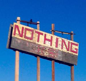Nothing-Sign